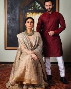 #KareenaKapoorKhan and #SaifAliKhan celebrated #Diwali with a #royal photo shoot! See all the pictures via link in bio  #Bollywood #Celebrities #Festivals #PhotoReady #SayCheese via ELLE INDIA MAGAZINE OFFICIAL INSTAGRAM - Fashion Campaigns  Haute Couture  Advertising  Editorial Photography  Magazine Cover Designs  Supermodels  Runway Models