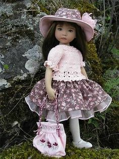 "In The Pink by Tuula Fits Dianna Effner 13"" Little Darling to A ""T"" 