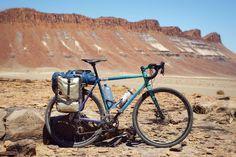 Mercer Bikes Touring Frame + Black Koki Artwork || via mercerbikes.co.za