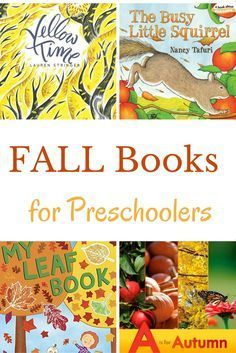 Fall books for presc Fall books for preschoolers are a perfect way to help kids learn about the new season. New and older titles that are great to read-aloud are shared. Autumn Activities For Kids, Fall Preschool, Preschool Books, Toddler Preschool, Book Activities, Preschool Activities, Preschool Classroom, Therapy Activities, Read Aloud Books