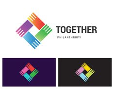 https://www.shutterstock.com/g/br-stock Together Philantropy. Together Philanthropy is a vector logotype template for social care, networking or media business company. Shake hands unity icon idea. #br_stock #logo #vector #hand #connection #connect #help #friendship #team #icon #design #network #handshake #community #business #teamwork #partnership #cooperation #social #volunteer #support #group #together #palm #organization #education #synergy #work #innovation #service #colors #company