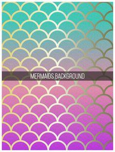 Gradient mermaid skin background. Download it at freepik.com! #Freepik #vector #background #geometric #gradient #geometricbackground