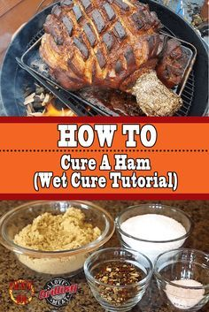 This simple guide will show you how to smoke a pork butt like a pro. The smoked pork butt can then be used in several other recipes that use pulled pork. Ham Brine Recipe, Cooking Pork Roast, Cooking Whole Chicken, Cooking Turkey, Pork Ham, Pork Ribs, Bbq Ribs, Pulled Pork