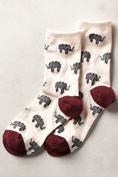#elephant socks too cute! #anthrofave