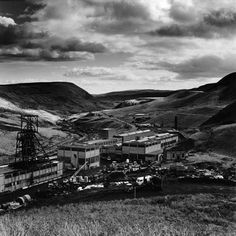 """'Maerdy Colliery, Rhondda 1985' © Roger Tiley. Roger's work will be shown at """"The Valleys Re-Presented"""" exhibition at Tramshed, Cardiff as part of Diffusion 2013. (1 May - 31 May)."""