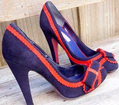Navy Blue Shoes www.bluenestthreads.com.au