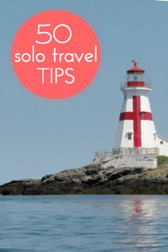 50 tips on how to travel solo