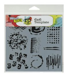 Crafter's Workshop Impressions Template 6''x6''