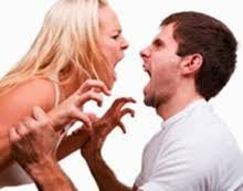tbh just searched up fighting couples, but kind of animalistic, as well as showing annoyance at each other