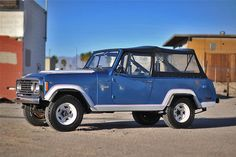 14 best jeepster commando project images jeepster commando, off1972 jeep commando blue white, soft top, trim ford bronco, jeepster