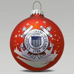 Coast Guard Ornament | Armed Forces Gear