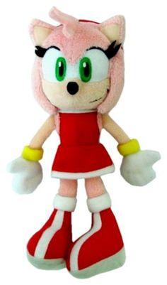 Amy Rose The Hedgehog Plush Toy Stuffed Plushies Doll 10/'/' Figure Baby Stuff NEW