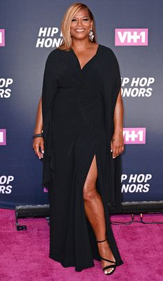 The Best Dressed Stars from Last Night Curvy Fashion, Plus Size Fashion, Girl Fashion, Fashion Dresses, Look Plus Size, Plus Size Women, Dresses For Apple Shape, Queen Outfit, Queen Latifah