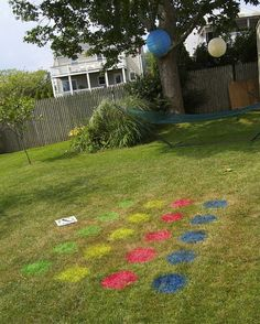 DIY Backyard Games - Every year we throw a Fourth of July party for the neighborhood. Usually we rent a Bounce house and all the kids have a ball. This year we…