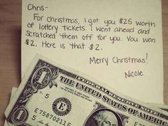 If you're feeling poor. | 38 Awesome Christmas Card Ideas You Should Steal