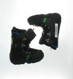 Used Burton Progression Snowboard Boot Youth Size 40  Mondo 220 Black >>> Click image for more details. This is an Amazon Affiliate links.