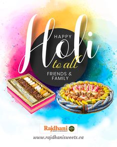 Best wishes to you for a Holi filled with sweet moments and memories to cherish for long. Happy Holi, Celebrations, Vegetarian Recipes, Birthday Cake, Sweets, Restaurant, Memories, Pure Products, Desserts