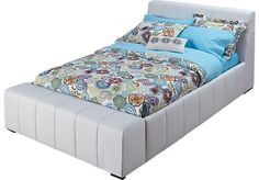 Zoey White 3 Pc Full Bed