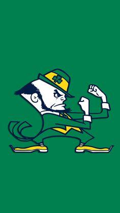 Notre Dame Fighting Irish. #green