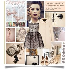 """Creativity is a natural extension of our enthusiasm"" by kikusek on Polyvore"