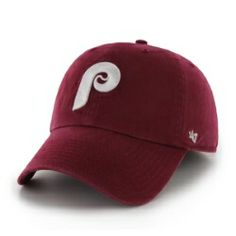 half off d808b c4b3b Philadelphia Phillies Clean Up Adjustable Hat by Brand 47. Features raised  embroidered team logo on