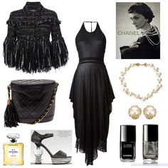 Angie's ode to Chanel wins the Head to Toe one designer #contest & she receives a $20 gift card!