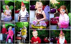 Fairy and gnome photo station