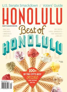 Honolulu Magazine July 2014 best places to eat on Oahu.