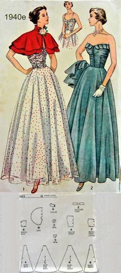 Hollywood Fashion, 1940s Fashion, Old Hollywood, Vintage Fashion, Vintage Clothing, Vintage Outfits, History Quotes, Paper Fashion, Pattern Pictures