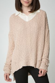Carmen Sweater- Brandy Melville