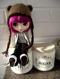 ad77de2800d Free Pattern  Fuzzy Bear Hat Crochet Doll Clothes
