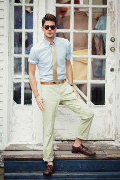 gravata skinny