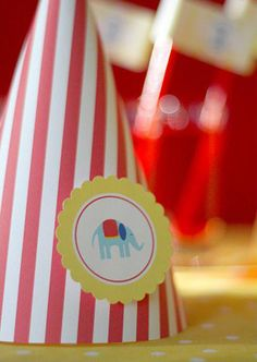 Party Printables: A Circus Theme At Your Fingertips