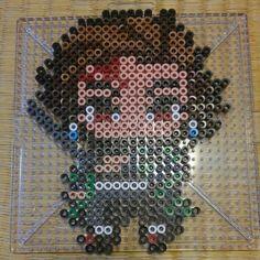 Diy Perler Beads, Pearler Beads, Fuse Beads, Easy Pixel Art, Pixel Art Grid, Melty Bead Patterns, Beading Patterns, Beaded Cross Stitch, Cross Stitch Patterns