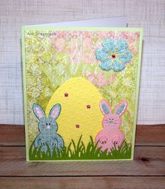 Ann Greenspan's Crafts: Yet Another Easter card