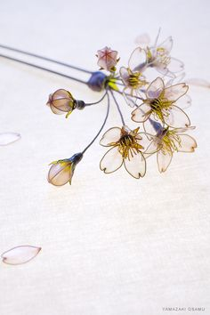 Hair accessory for kimono, Kanzashi by SAKAE, Japan