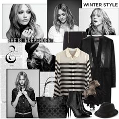 """Winter Style"" by justjules2332 ❤ liked on Polyvore"