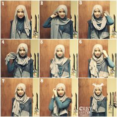 Long Shawl Chic Tutorial