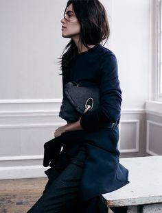 Amanda Wellsh by Benny Horne for Vogue Spain September 2014  | HarperandHarley