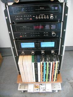 Vintage McIntosh Home/Business Audio Rack ! | eBay