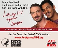 CDC Launches 'Let's Stop HIV Together' Campaign