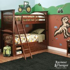 Sibling Spaces | Tricks for decorating a shared kids' room