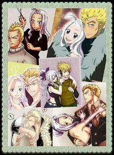 Mirajane and Laxus #Miraxus | FairyTail