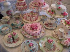 Victorian Tea Party Cakes Excellent For A English Style High