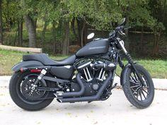 Harley Davidson Iron 883.