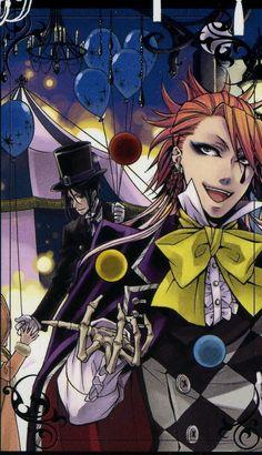Joker - Kuroshitsuji © Yana Toboso
