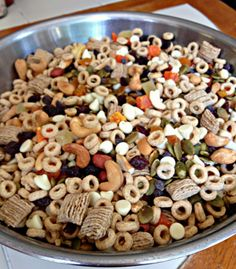 Trail Mix: A Healthy Back to School Snack Without a Wrapper from Diane on SC Johnson's Green Choices blog. Photo courtesy of Diane Hoffmaster.
