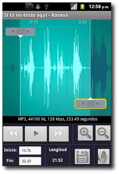 Crear tonos de llamada, notificaciones y alarmas en Android con Ringtone Maker