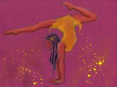 Cœur Métisse © Theo Adamec #acrobat #yellow