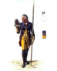 Prussian Infantry Regiment von Pannwitz No 10 Battle of Mollwitz 10th April 1741
